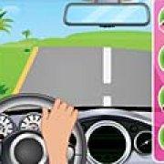Игра Игра Барби: безделье за рулем
