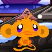 Игра Игра Счастливая обезьянка ниндзя 3