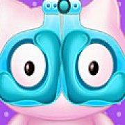 Игра Игра Хелло Китти лечит глаза