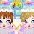 Игра Игра Мои новорожденные близнецы
