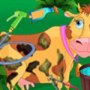 Игра Игра Уход за коровой