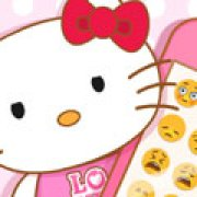 Игра Игра Хелло Китти розовый айфон