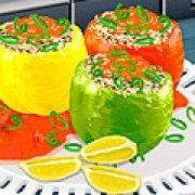 Игра Игра Кухня Сары фаршированные перцы