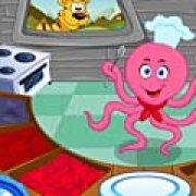 Игра Игра Шеф-повар ресторана осьминог