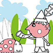 Игра Игра Раскраски маленькое королевство: Бен и Гастон