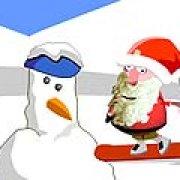 Игра Игра Санта на сноуборде