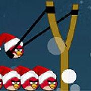 Игра Игра Angry birds: счастливое Рождество
