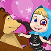 Игра Игра Маша и Медведь Хэллоуин