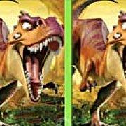 Игра Игра Ледниковый период: эра динозавров: найди отличия