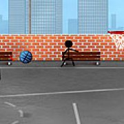 Игра Игра Stickman: уличный баскетбол