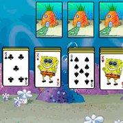 Игра Игра Пасьянс Губка Боб