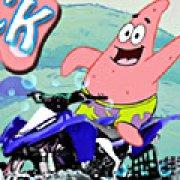 Игра Игра Патрик на квадроцикле 3Д
