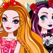 Игра Игра Рейвен Квин и Эппл Вайт: королева или бунтарь