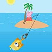 Игра Игра Свинка Пеппа рыбалка