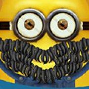 Игра Игра Миньоны брить бороду