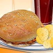 Игра Игра Кухня Сары куриный сэндвич барбекю