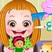 Игра Игра Уход за волосами ребенка