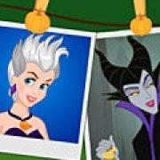 Игра Игра Принцессы Диснея против злодеев Хэллоуин