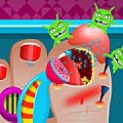 Игра Игра Лечение сломанного ногтя
