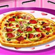 Игра Игра Кухня Сары пицца на День святого Валентина