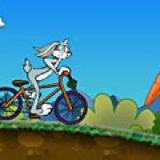 Игра Игра Багз Банни на велосипеде