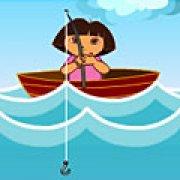 Игра Игра Даша на рыбалке