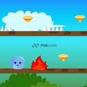 Игра Игра Огонь и Вода 4: Приключения Шариков