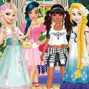 Игра Игра Принцессы Диснея стиль Мори