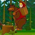 Игра Игра Маша и Медведь на пикник