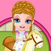 Игра Игра Малышка Барби травма на игровой площадке