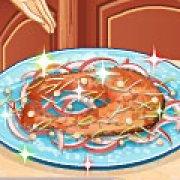 Игра Игра Кухня Сары лосось в кленовом сиропе