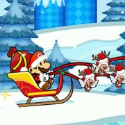 Игра Игра Санта Марио: доставка / Santa Mario Delivery