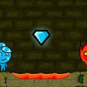 Игра Игра Огонь и Вода в лесном храме 3