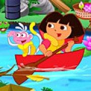 Игра Игра Дора убирает / Dora Clean Up