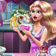 Игра Игра Новые Для Девочек: Элли Моет Посуду