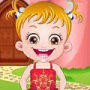 Игра Игра Малышка Хейзел макияж принцессы