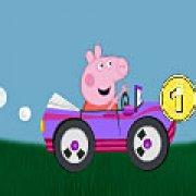 Игра Игра Свинка Пеппа гонки на машине