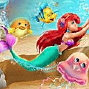 Игра Игра Плавающая Ариэль в океане