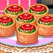 Игра Игра Кухня Сары ротоло со шпинатом