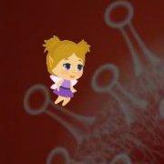 Игра Игра Маленькая Девочка Коронавирус