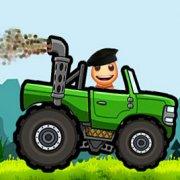 Игра Игра Кик зе Бади: Гонка по холмам