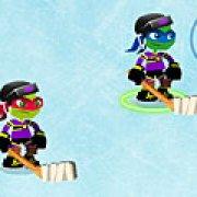 Игра Игра Черепашки ниндзя хоккей