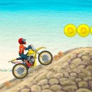 Игра Игра Мотоциклы: гонки на пляже