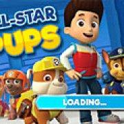 Игра Игра Щенячий патруль: все звезды щенки