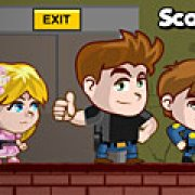 Игра Игра На двоих: полицейские спасатели