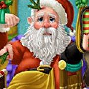Игра Игра Лечить Деда Мороза