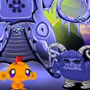Игра Игра Счастливая обезьянка: Уровень 452 Викинг Ледяной Король Часть 5