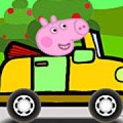 Игра Игра Свинка Пеппа: сумасшедшие гонки