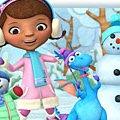 Игра Игра Доктор Плюшева снеговик