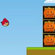 Игра Игра Angry birds: ящики Хэллоуин